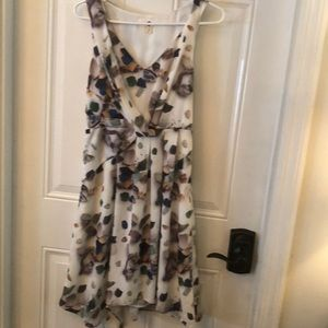 Anthropologie meadow dress size 2 ruffle front